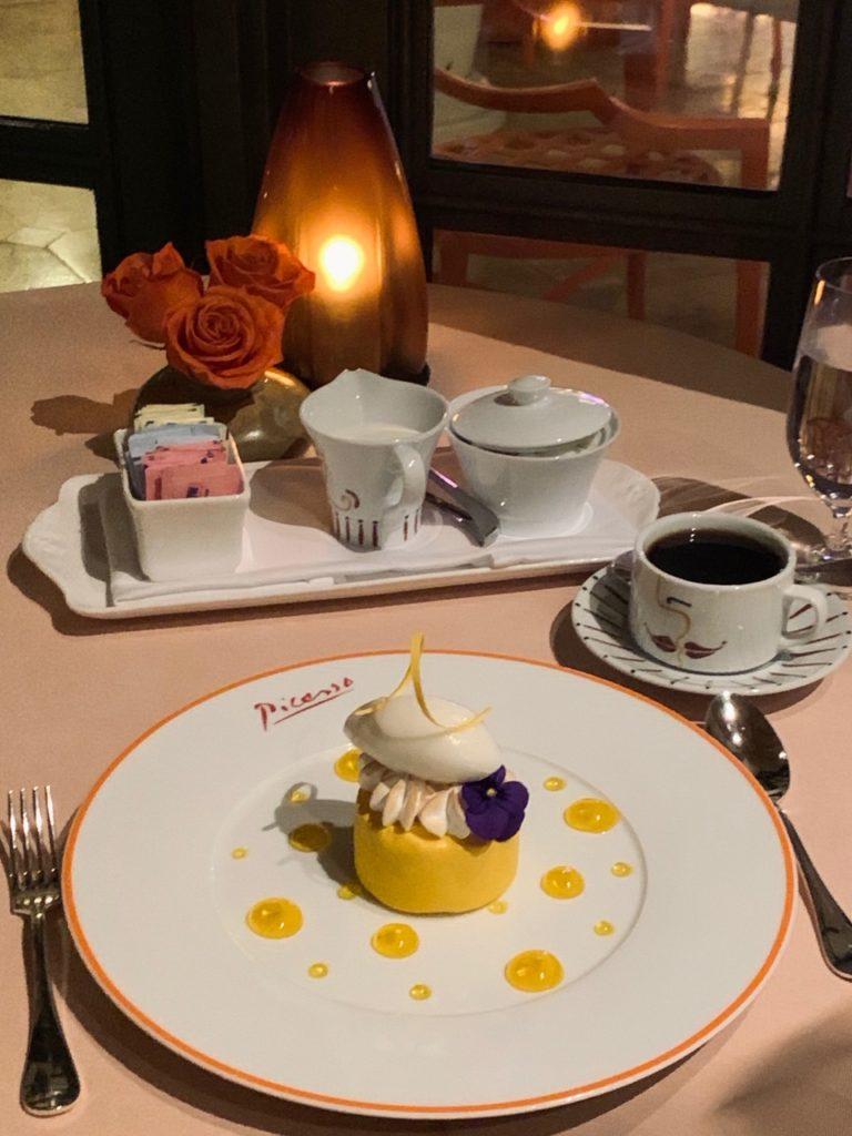 ピカソの絵画に囲まれながら地中海フレンチが堪能 出来るレストラン3