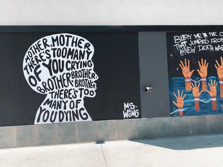 ストリートアートで#Black Lives Matter-3