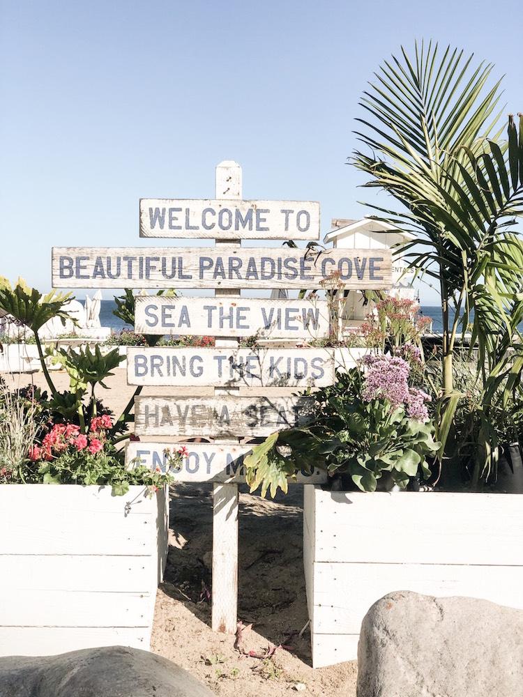 マリブのパラダイスコーブビーチ-4