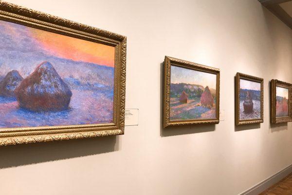 フランス印象派画家クロード・モネの「積みわら」