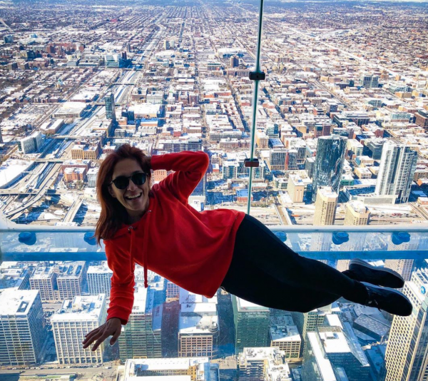 全米第2位の高さ「ウィリス・タワー」でアートな1枚を